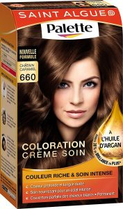 Saint Algue coloration maison chatain caramel