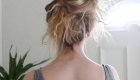 Octopus bun chignon volumineux