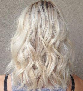 Blond cendré platine