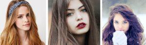 Cheveux marron couleur yeux