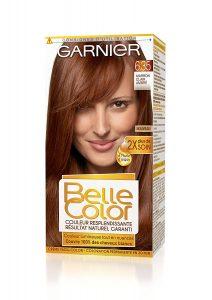 Boite de coloration Belle Color de la marque Garnier couleur marron clair ambré