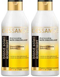 Shampoing éclaircissant cheveux blonds Dessange