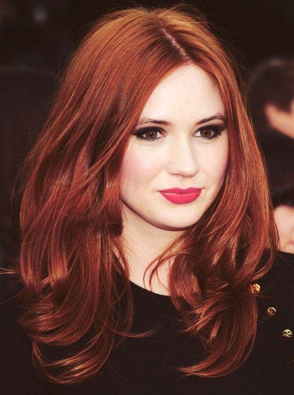 Couleur de cheveux roux