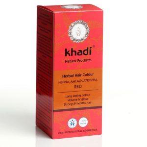 Khadi henné cheveux rouges