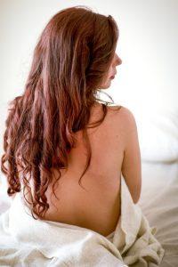 Couleur henné pour cheveux longs