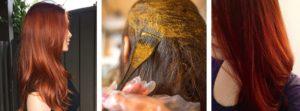 henné cheveux auburn