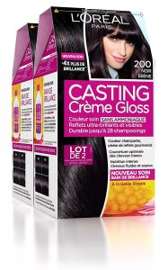 Casting crème Gloss noir ébène