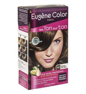 Coloration Eugène Color ton sur ton chatain
