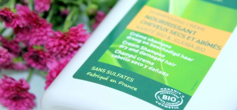Shampooing bio sans sulfates fabriqué en france cheveux secs et abimés
