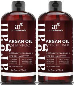 Shampooing Art Naturals pour cheveux colorés à l'huile d'argan
