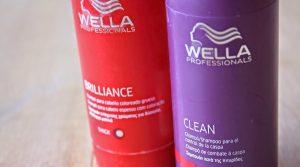 Shampoing Wella brillance and Clean pour cheveux colorés pour faire durer longtemps la couleur