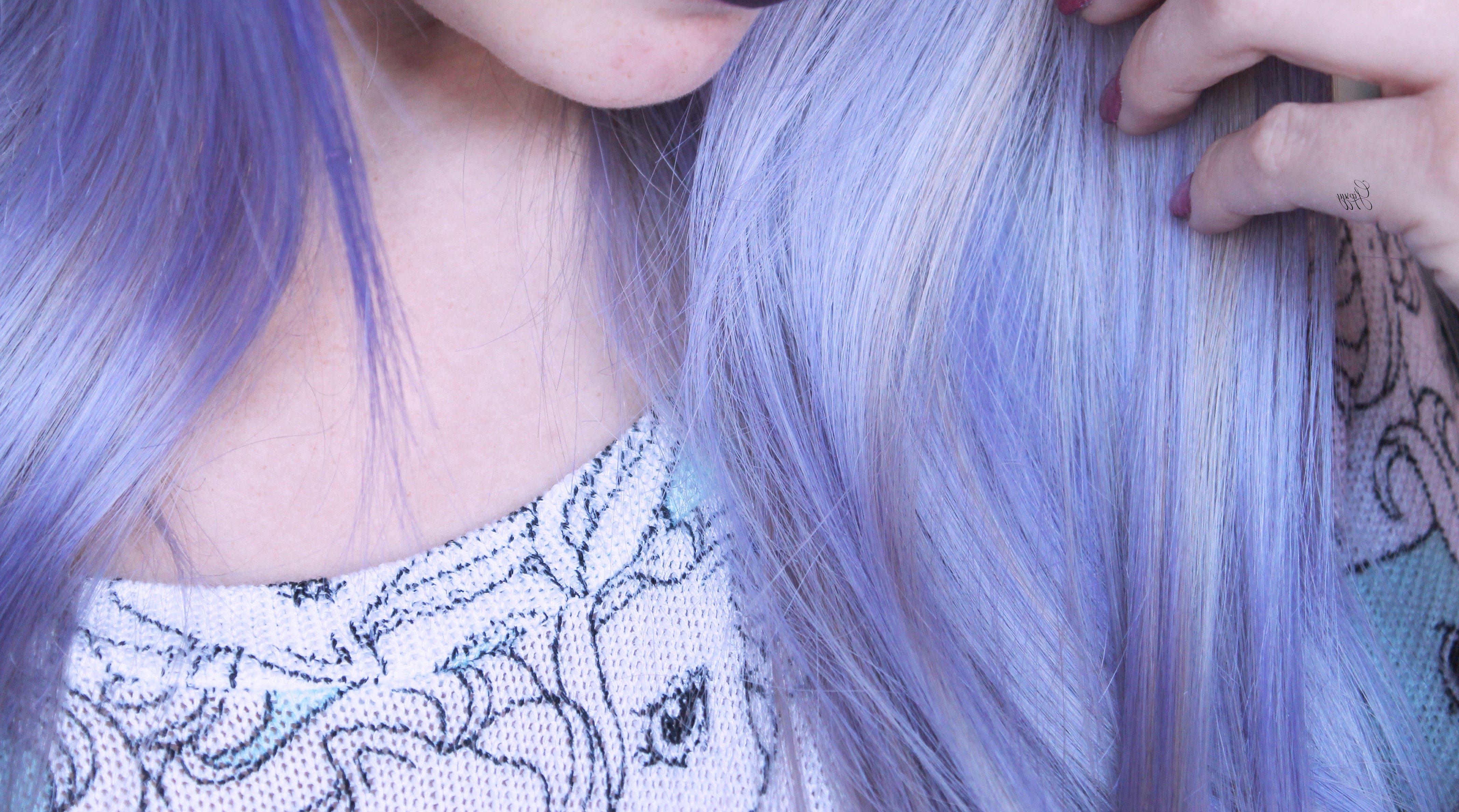 Cheveux Violet Une Coloration Pour Moi Mauve Violine Auburn