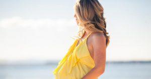 La coloration de cheveux femmes enceintes