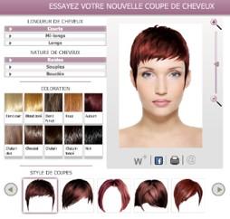 Simulateur couleur de cheveux