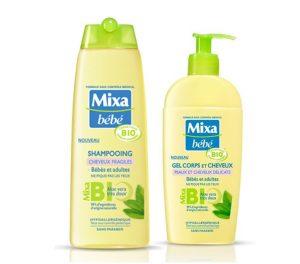 Gamme shampoing mixa bio