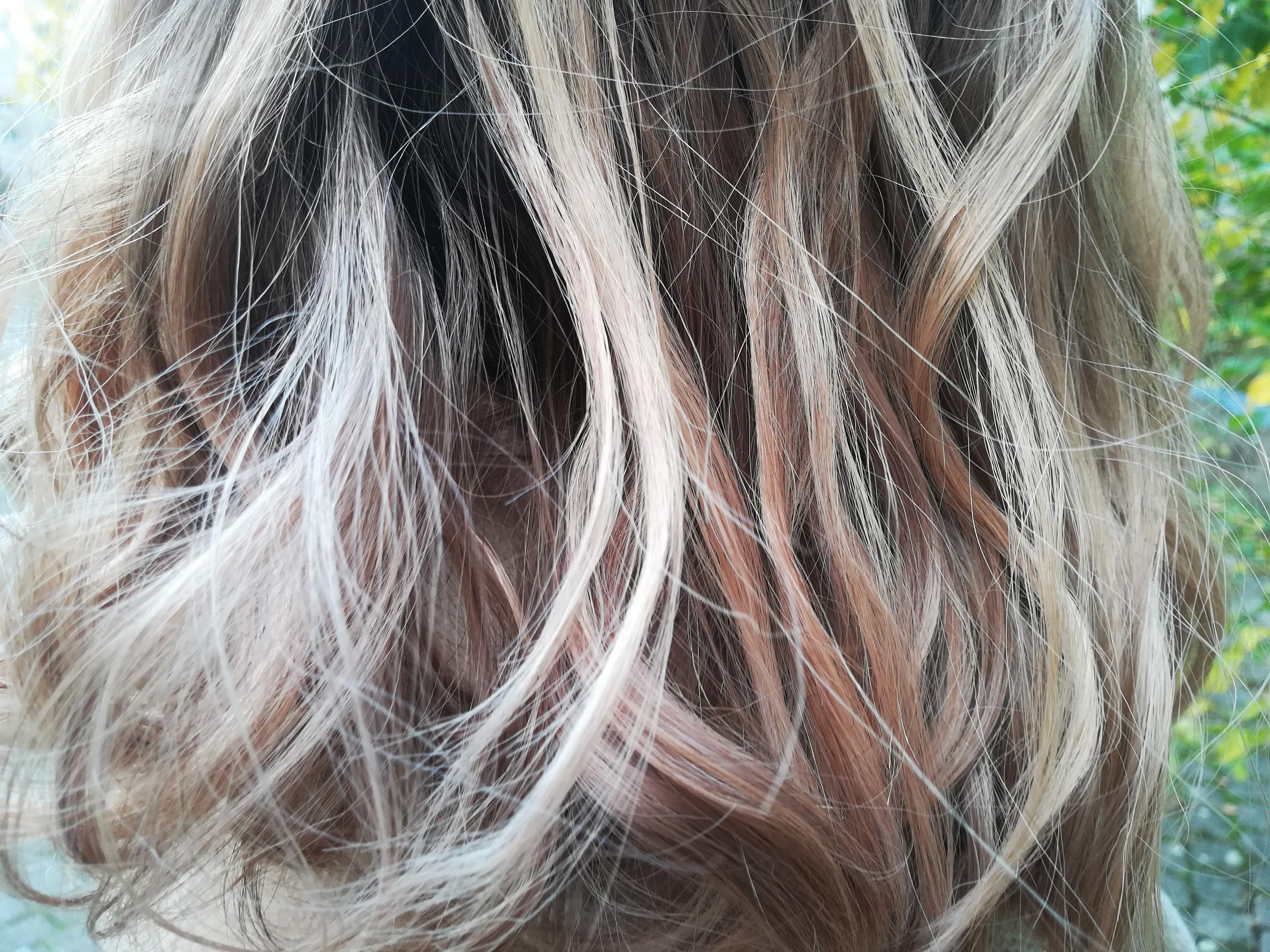 cheveux abimés decoloration