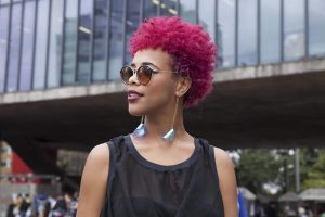 Coloration cheveux rose fushsia