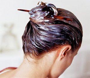 Masque pour cheveux colorés
