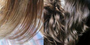 Cure de sébum cheveux
