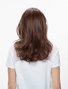 Cure de sébum cheveux résultat