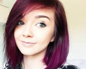 Rose framboise cheveux