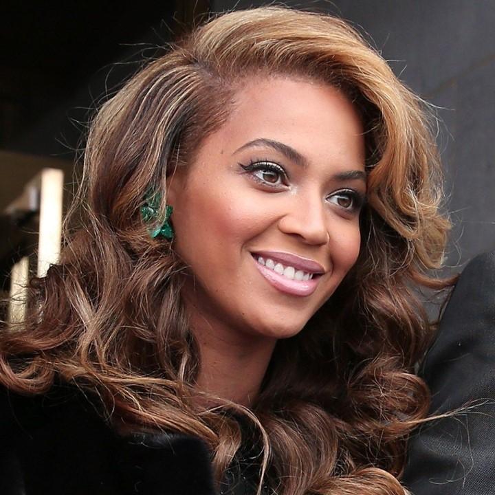 Balayage caramel Beyoncé