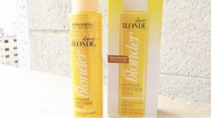Spray éclaircissant John Frida go blond