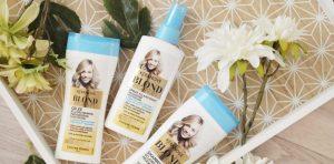 Spray éclaircissant cheveux Keranove blond vacances