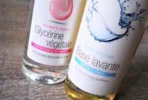 Glycérine végétale recette maison