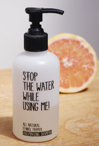 Shampoing ingrédients naturels