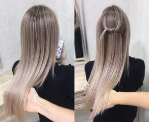 Blond cendré gris