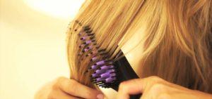 Brosse lissante cheveux