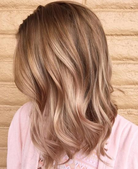 reflet blond naturel