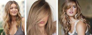 Nuances blond foncé