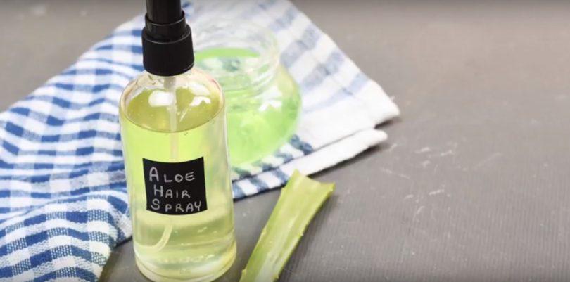 Spray cheveux aloe verra