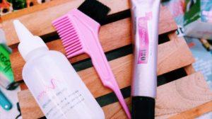 Test produit coloration cheveux