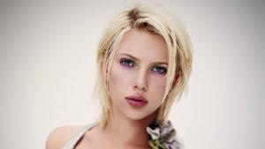 Blond platine Scarlett Johansson
