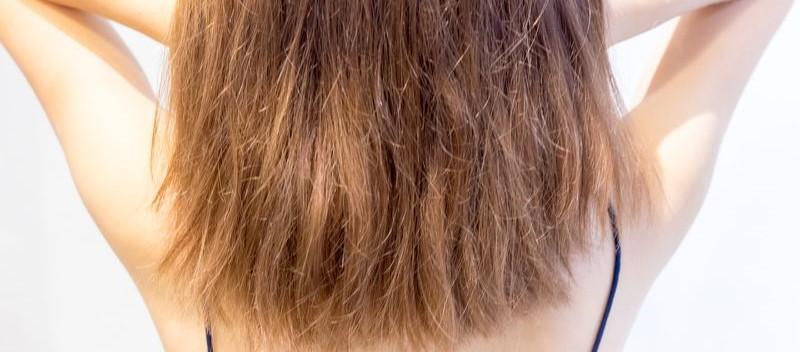 cheveux tres sec