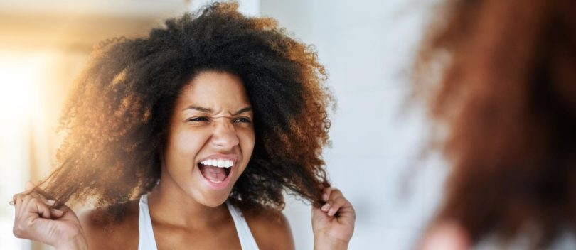Traitement cheveux secs