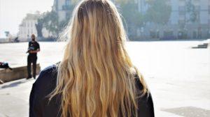 Huile cheveux secs