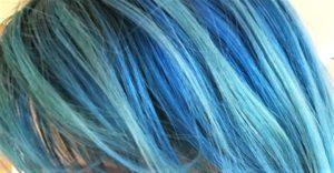 Cheveux bleu arctic fox