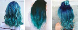 Cheveux sirene