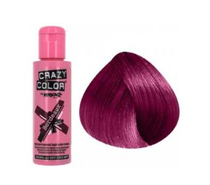 Cheveux Bordeaux crazy color