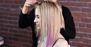 Coloration extension cheveux
