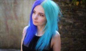 cheveux deux couleur