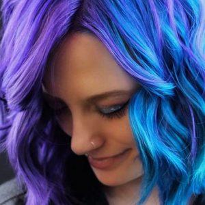 coloration cheveux deux couleurs