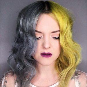 coloration deux couleurs