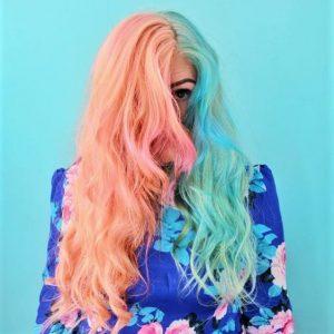 couleur deux tons cheveux