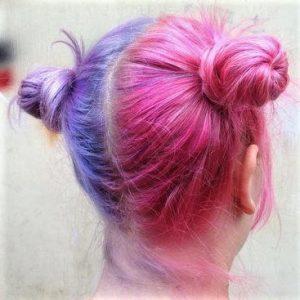 deux couleur cheveux