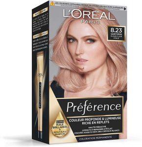Rose gold L'oréal